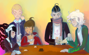 DR/SDR2- Cards by honkstomp