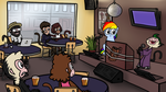My Little Dashie 28 - Karaoke Bar by petirep