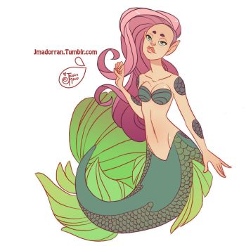 Character Design - Mermay 04 by MeoMai