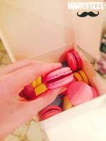 I Eat Macaroons by MarySteel
