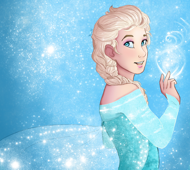 The Cold Never Bothered Me Anyway by Vintage009