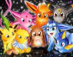 Eeveelutions - I Know the Secret by sunshineikimaru