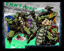 The TMNT ReImagined by fbwash