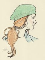Beret Profile by jackieocean