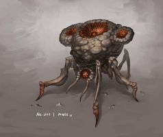 Monster No. 041 by Onehundred-Monsters