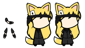 Custom Walfas: Kitsume with no name yet! by Unknownfalling