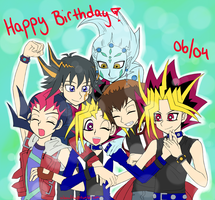 Happy Birthday Yuugi by AibouFTW