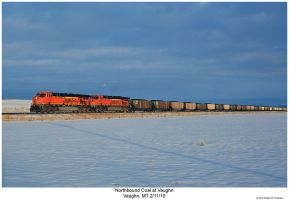 Northbound Coal at Vaughn by hunter1828