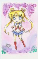 :: Chibi Sailor Moon :: by AnimeJanice