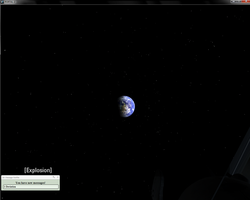 Portal 2 Glitch: The earth in weatleys lair by NyinxDeLune