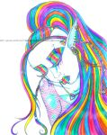 even rainbows cry by GrotesquePuPPyMeow