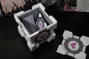 Companion Cube Care Package 4 by NotThatJesus