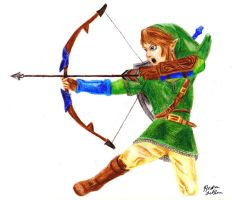Link - Hero's Bow by Jaylastar