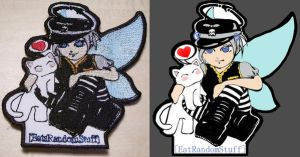 OC custom embroiderd patch by Oniko-art