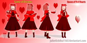 Game of Dreams: Queen of Red Hearts by julietUchiha1165