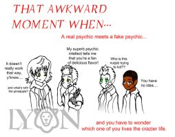 That Awkward Moment When...part 3 by TheDocRoach