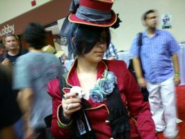 Ciel Phantomhive - Red Outfit by ThatOtherFangirl