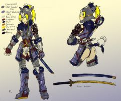 Combined Wolf Armor v2 concept by makotomikami