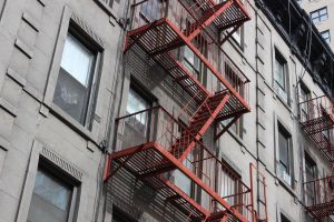 Fire Escape by TheBuggynater