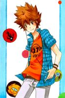 Tsuna by Escente
