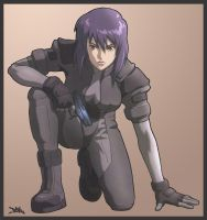 GHOST IN THE SHELL 2 by KOKORONIN