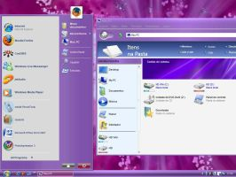 Vista Live Purple for XP by Nait0