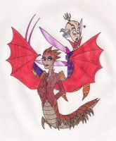 Dean Hardscrabble and Emperor Candybug by 13foxywolf666