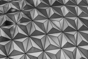 Spaceship Earth detail by speedofmyshutter