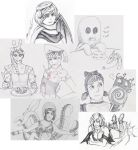 Small Sketchs from Gaia by Dragonsbld