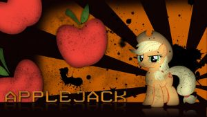- Applejack - by Amoagtasaloquendo