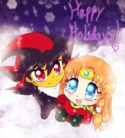 Happy Holidays by Tikaru17