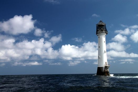 Bell Rock Lighthouse by Nigalius