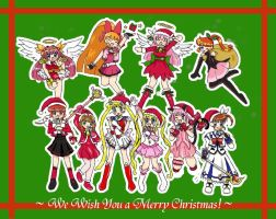 We Wish You a Shoujo Christmas by serena-inverse