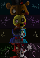 Five Nights at Freddy's 2 by Rhueniea-the-Echidna