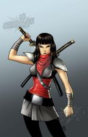 Karai_ Color by Crimzonstudio