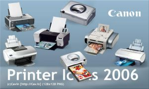 Canon printer icons by valar-ru