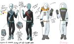 Petrichorp Recruit Outfits by ShamanEileen