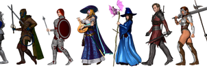 Uncanny RPG - Blue Group by Sailmaster-Seion