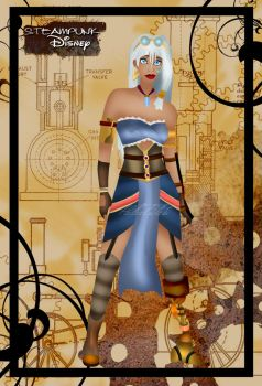 Steampunk Kida by HelleeTitch