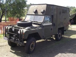 Land Rover on display 1 by RedtailFox