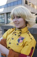 Eurobeat King- AUSA- Seras 13 by DustbunnyCosplay