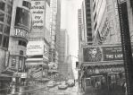 Times Square by Delichon