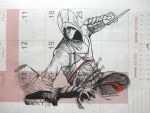 Altair impaling a Templar (1) by Indiana8Jones