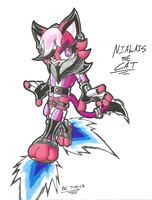 *POINT-COMMISSION*:  Nialais the Cat by Armpit-Warrior