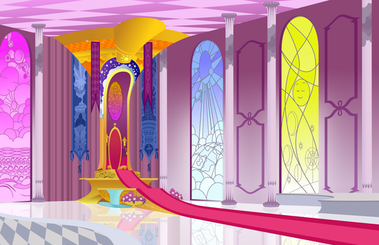 Celestia's Throne Room Background by tamalesyatole
