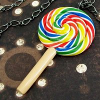 Lollipop Necklace by beatblack