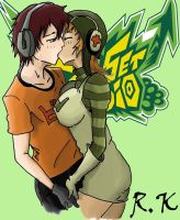 Jet Set Radio - Beat and Gum by ReeYagami
