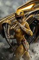 Yellow Ranger by CarlosDattoliArt