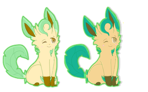 Leafeon by F0GBOUND
