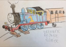 Thomas is Number 1 by WolfGang-Jake